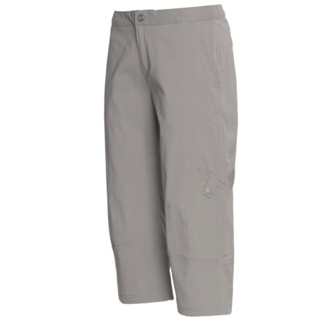 Royal Robbins Discovery Capris - UPF 50+, Stretch Nylon (For Women) in Light Pewter