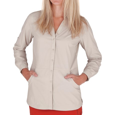 Royal Robbins Discovery Lite Stretch Jacket - UPF 25+ (For Women) in Soapstone