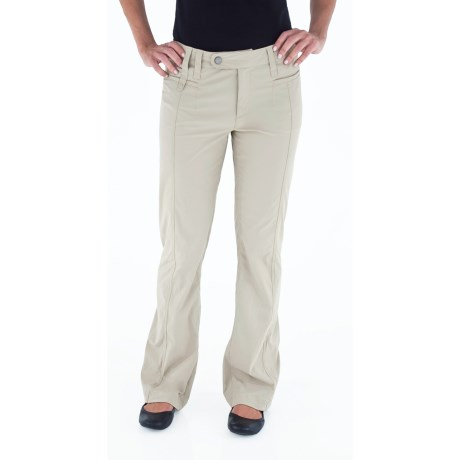Royal Robbins Discovery Pants - UPF 50+, Stretch Nylon (For Women) in Soapstone