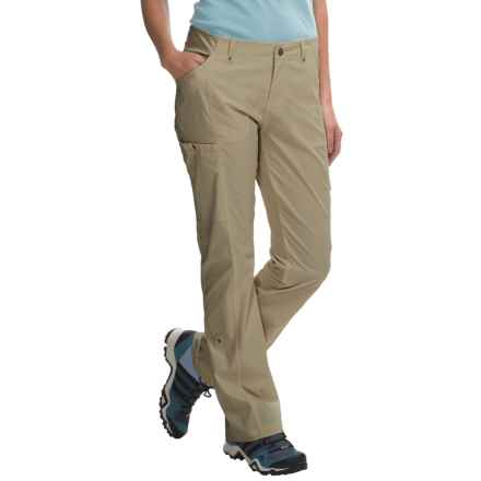 Royal Robbins Discovery Roll-Up Pants - UPF 50+ (For Women) in Khaki - Closeouts
