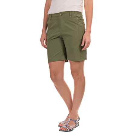 Royal Robbins Discovery Shorts - UPF 50+ (For Women) in Aloe - Closeouts