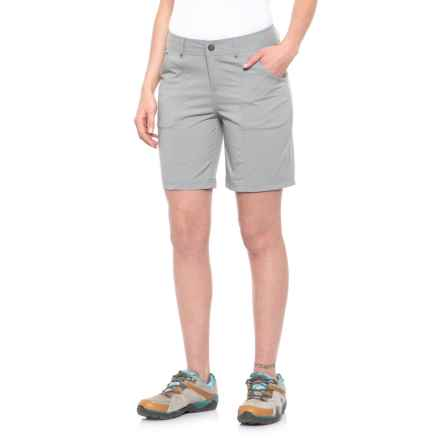 Royal Robbins Discovery Shorts - UPF 50+ (For Women) in Light Pewter - Closeouts