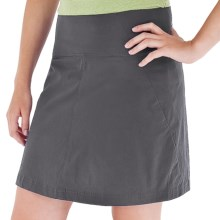 Royal Robbins Discovery Skort - UPF 50+, Stretch Nylon (For Women) in 018 Charcoal - Closeouts