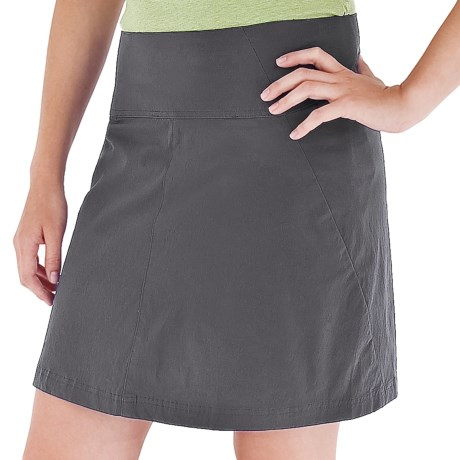 Royal Robbins Discovery Skort - UPF 50+, Stretch Nylon (For Women) in 018 Charcoal