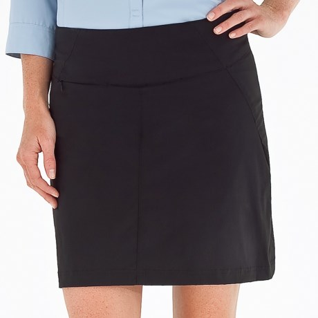 Royal Robbins Discovery Skort - UPF 50+, Stretch Nylon (For Women) in Jet Black