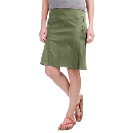 Royal Robbins Discovery Strider Skirt - UPF 50+ (For Women) in Aloe - Closeouts