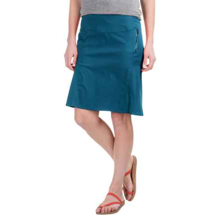 Royal Robbins Discovery Strider Skirt - UPF 50+ (For Women) in Dark Lapis - Closeouts