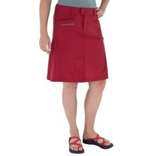 Royal Robbins Discovery Traveler Skirt - UPF 50+ (For Women) in Dark Crimson - Closeouts