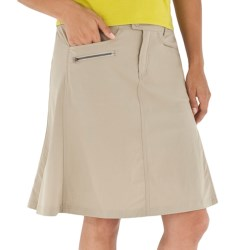 Royal Robbins Discovery Traveler Skirt - UPF 50+ (For Women) in Khaki