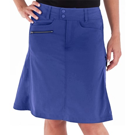 Royal Robbins Discovery Traveler Skirt - UPF 50+ (For Women) in Royal Blue