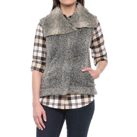 66bb983fe84d74 Royal Robbins Dolomites Fleece Sweater Vest (For Women) in Khaki - Closeouts