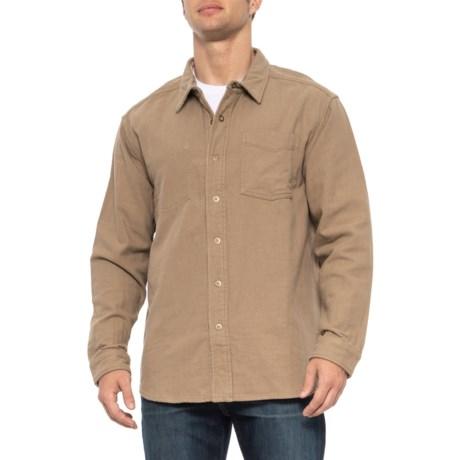Royal Robbins Double Back Overshirt - Cotton, Reversible, Long Sleeve (For Men) in True Khaki