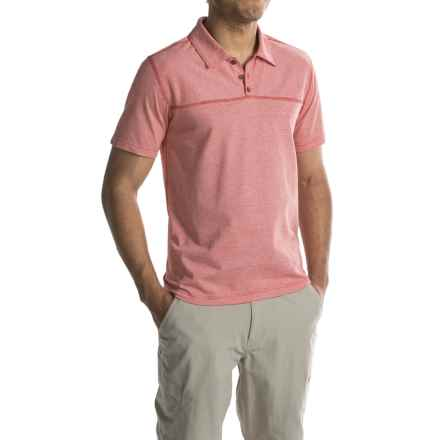 Royal Robbins Dri-Comfort® Polo Shirt - UPF 25+, Short Sleeve (For Men) in Cardinal - Closeouts