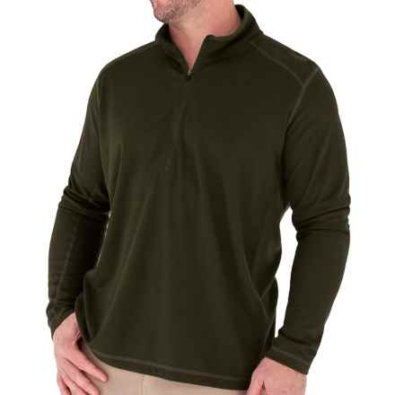 Royal Robbins Dri-Release® Shirt - UPF 25+, Zip Neck, Long Sleeve (For Men) in Timber - Closeouts
