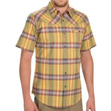 Royal Robbins Drifter Dobby Shirt - Button Front, Short Sleeve (For Men) in Plantain - Closeouts