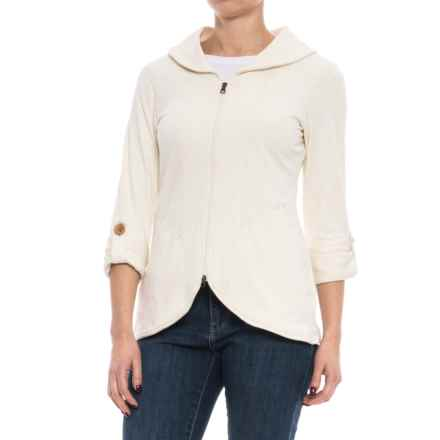 Royal Robbins Eco Terry Zip Blazer (For Women) in Creme - Closeouts