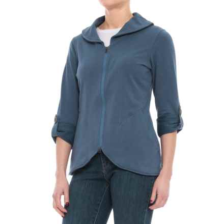 Royal Robbins Eco Terry Zip Blazer (For Women) in Ink - Closeouts
