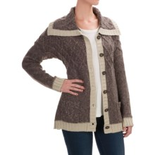 Royal Robbins Elsa Cardigan Sweater (For Women) in Mole - Closeouts