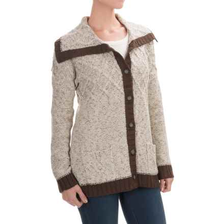 Royal Robbins Elsa Cardigan Sweater (For Women) in Oatmeal - Closeouts