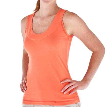 Royal Robbins Endeavor Tank Top - UPF 30, Scoop Neck, Stretch Cotton Rib (For Women) in Nectar - Closeouts