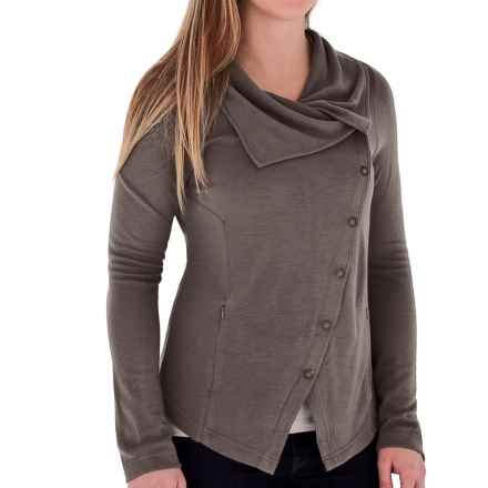 Royal Robbins Enroute Asymmetric Jacket - UPF 45+ (For Women) in Taupe - Closeouts