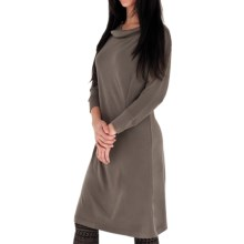 Royal Robbins Enroute Dress - UPF 40+, Cowl Neck, 3/4 Sleeve (For Women) in Taupe - Closeouts