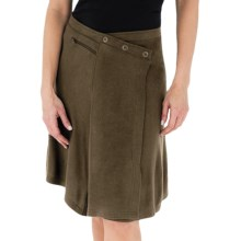 Royal Robbins Enroute Skirt - Wrap Front, Wool Blend (For Women) in Timber - Closeouts