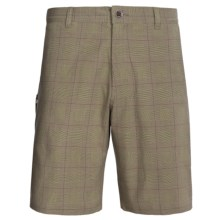 Royal Robbins Epitome Plaid Shorts (For Men) in Light Olive - Closeouts