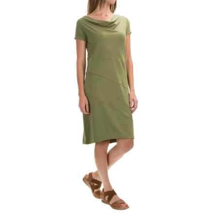 Royal Robbins Essential Dress - Short Sleeve (For Women) in Eucalyptus - Closeouts