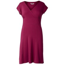 Royal Robbins Essential Dress - UPF 50+, Sleeveless (For Women) in Raspberry - Closeouts