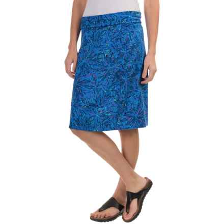 Royal Robbins Essential Floret Skirt - UPF 50+ (For Women) in Dark Lapis - Closeouts