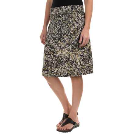 Royal Robbins Essential Floret Skirt - UPF 50+ (For Women) in Jet Black - Closeouts