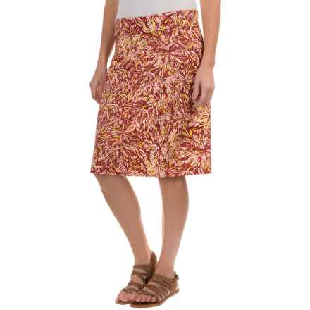 Royal Robbins Essential Floret Skirt - UPF 50+ (For Women) in Pimento - Closeouts