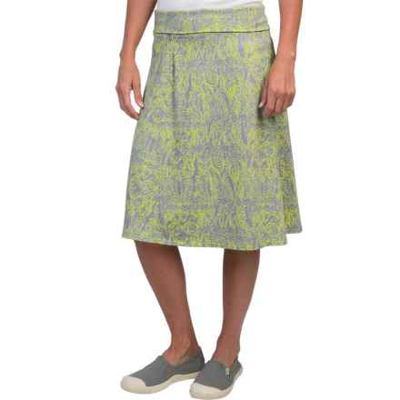 Royal Robbins Essential Henna Skirt - UPF 50+ (For Women) in Lime Zest - Closeouts