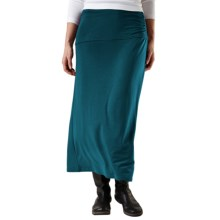 Royal Robbins Essential Maxi Skirt - UPF 50+, TENCEL® Stretch Jersey (For Women) in Deep Teal - Closeouts