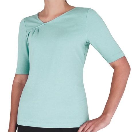 Royal Robbins Essential Peak Shirt - UPF 50+, Elbow Sleeve (For Women) in Nile Blue
