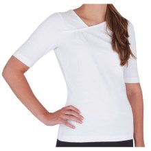 Royal Robbins Essential Peak Shirt - UPF 50+, Elbow Sleeve (For Women) in White - Closeouts