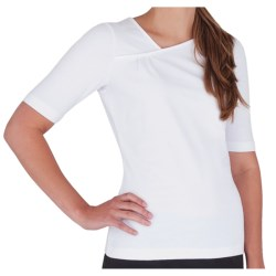 Royal Robbins Essential Peak Shirt - UPF 50+, Elbow Sleeve (For Women) in White