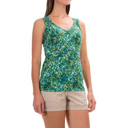 Royal Robbins Essential Plein Air Tank Top - UPF 50+ (For Women) in Dark Aqua - Closeouts