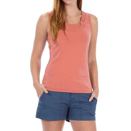 Royal Robbins Essential Ponte Tank Top - UPF 50, TENCEL® Stretch Jersey (For Women) in Lite Persimmon - Closeouts