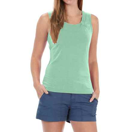 Royal Robbins Essential Ponte Tank Top - UPF 50, TENCEL® Stretch Jersey (For Women) in Spearmint - Closeouts