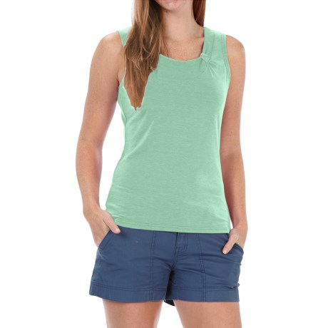 Royal Robbins Essential Ponte Tank Top - UPF 50, TENCEL® Stretch Jersey (For Women) in Spearmint