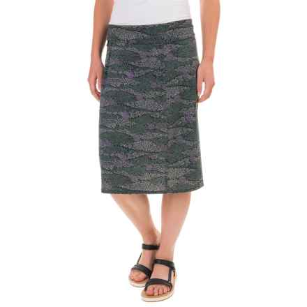 Royal Robbins Essential Printed Skirt - UPF 50+, TENCEL® (For Women) in Agave - Closeouts
