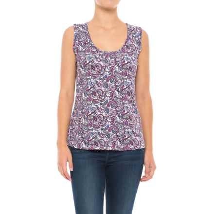 Royal Robbins Essential Tapestry Tank Top (For Women) in Aster - Closeouts