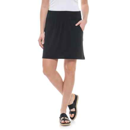 Royal Robbins Essential TENCEL® Pocketed Skirt (For Women) in Jet Black - Closeouts
