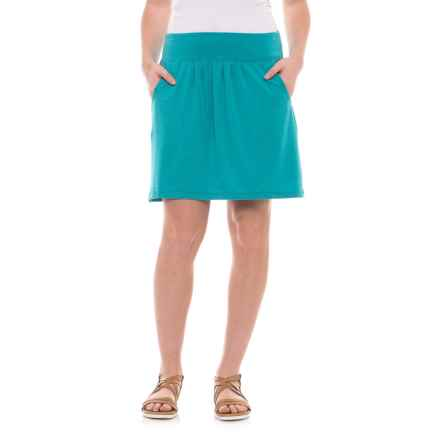 Royal Robbins Essential TENCEL® Pocketed Skirt (For Women) in Pinyon - Closeouts