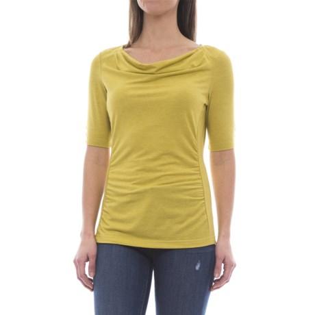 Royal Robbins Essential TENCEL® Shirt - UPF 50+, Elbow Sleeve (For Women) in Tarragon