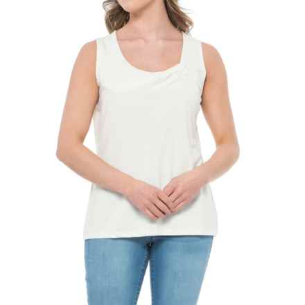 Royal Robbins Essential TENCEL® Tank Top (For Women) in Creme - Closeouts