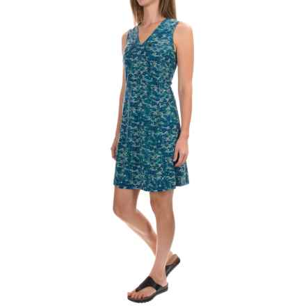 Royal Robbins Essential Tie-Diamond Dress - Sleeveless (For Women) in Dark Lapis - Closeouts