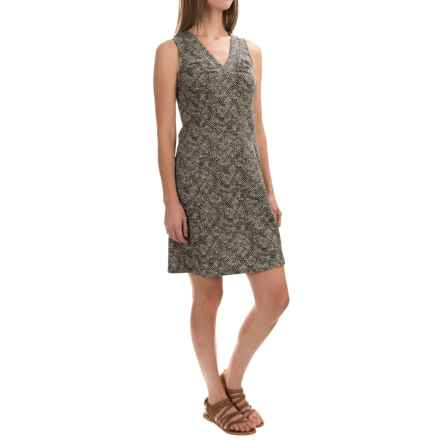 Royal Robbins Essential Tie-Diamond Dress - Sleeveless (For Women) in Taupe - Closeouts